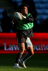 Marcus Smith of Harlequins - Mandatory by-line: Robbie Stephenson/JMP - 12/11/2017 - RUGBY - Twickenham Stoop - London, England - Harlequins v Worcester Warriors - Anglo-Welsh Cup