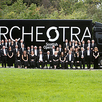 Picture shows : Scottish Opera Orchestra.. September 2009..Picture Drew Farrell..Tel 07721-735041.