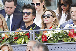 May 12, 2019 - Madrid, Spain - Marta Hazas attend the men's final during day 9 of the Mutua Madrid Open at La Caja Magica on May 12, 2019 in Madrid, Spain. (Credit Image: © Oscar Gonzalez/NurPhoto via ZUMA Press)