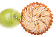 Leftover pastry dough?  One apple, one tartlet pan, brush lightly with butter and voila!  A healthy autumn treat.
