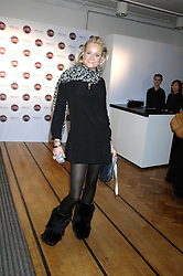 KALITA AL-SWAIDI at a party to celebrate the launch of the new Fiat 500 car held at the London Eye, Westminster Bridge Road, London on 21st January 2008.<br /> <br /> NON EXCLUSIVE - WORLD RIGHTS (EMBARGOED FOR PUBLICATION IN UK MAGAZINES UNTIL 1 MONTH AFTER CREATE DATE AND TIME) www.donfeatures.com  +44 (0) 7092 235465
