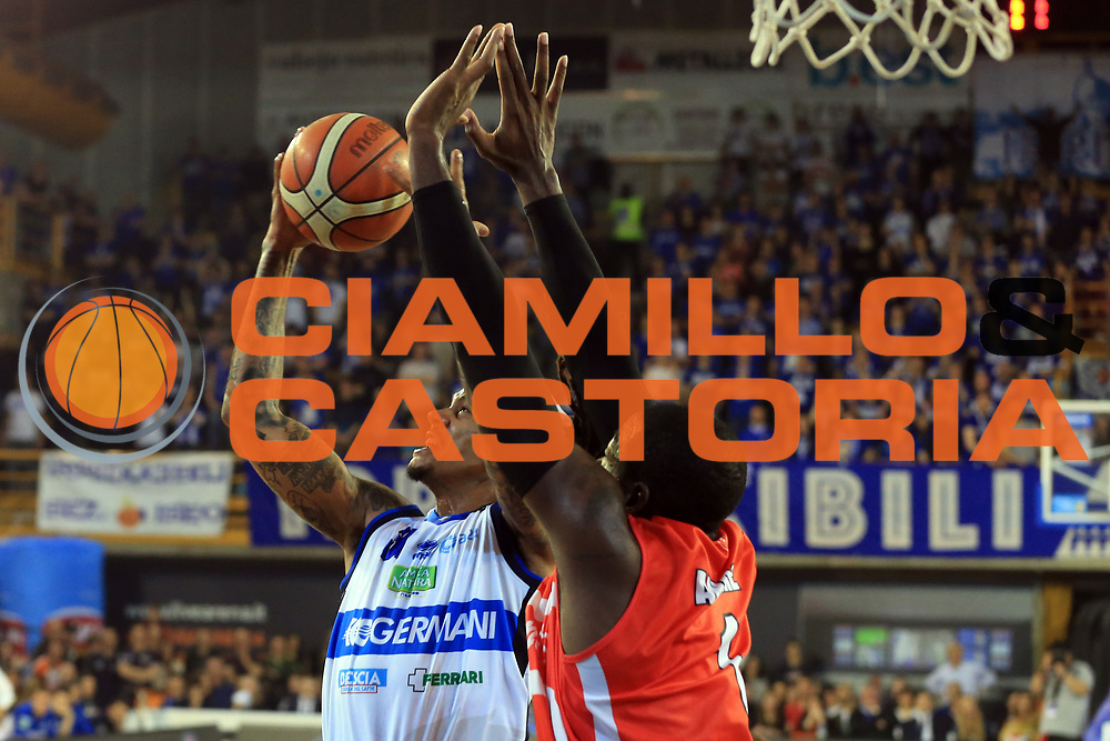 Moss David<br /> Germani Basket Brescia vs Openjobmetis Varese<br /> Lega Basket Serie A 2016/2017<br /> Citt&agrave; 19/03/2017<br /> Foto Ciamillo-Castoria/A.Gilardi