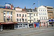 Hippodrome theatre and historic buildings, St Augustine's Parade, Bristol
