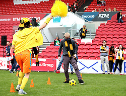 Supporters take part in half time entertainment at the RSG Summer Party - Mandatory by-line: Robbie Stephenson/JMP - 19/05/2016 - RUGBY - Ashton Gate - Bristol, England - RSG Summer Party