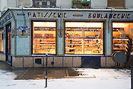 France. Paris. 4th district. ue des ecouffes in le marais jewish area