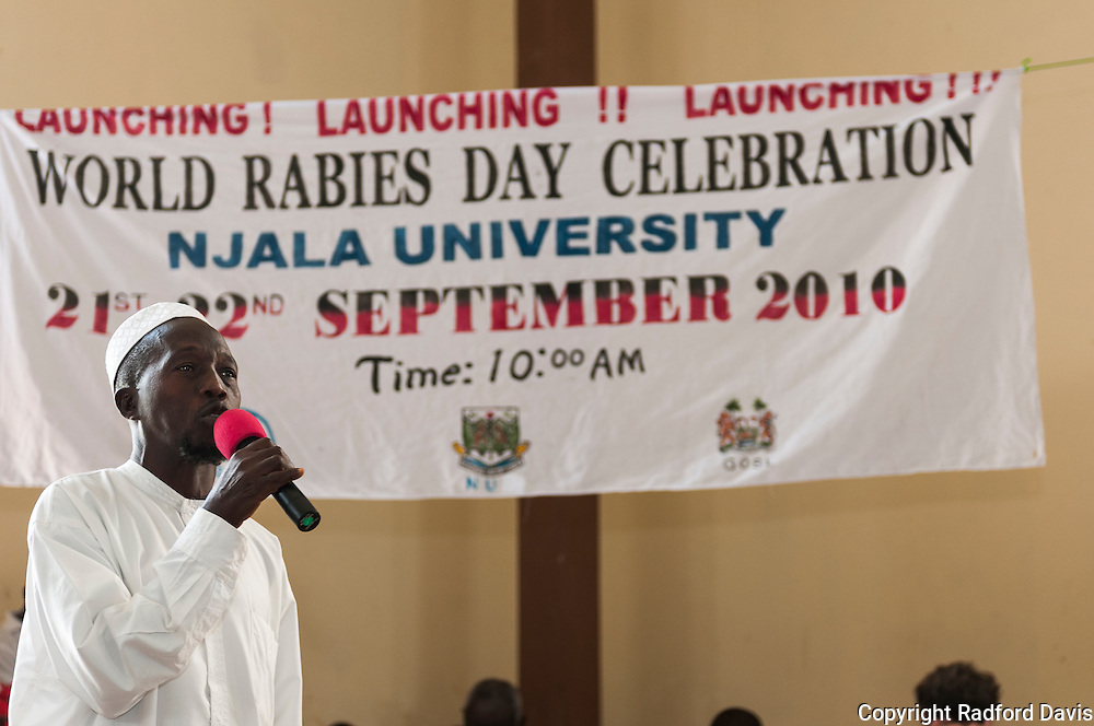 The people of Sierra Leone fight back against rabies by educating communities through World Rabies Day celebrations and events in 2010. From song and dance to skits to vaccination clinics to school competitions, word got out. Still, not enough has been done to rid the country of this killer for good. At Njala University in Sierra Leone, the events for World Rabies Day, 2010, kick off with a prayer to an auditorium filled with school kids and adults from surrounding villages. The day is filled with speeches, songs, dance, music and skits -- all about rabies. With no firm way to diagnose rabies in humans or animals, the exact toll of the disease remains unknown. But people do die.