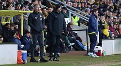Peterborough United Manager Darren Ferguson on the touchline alongside Burton Albion manager Nigel Clough - Mandatory by-line: Joe Dent/JMP - 29/02/2020 - FOOTBALL - Pirelli Stadium - Burton upon Trent, England - Burton Albion v Peterborough United - Sky Bet League One