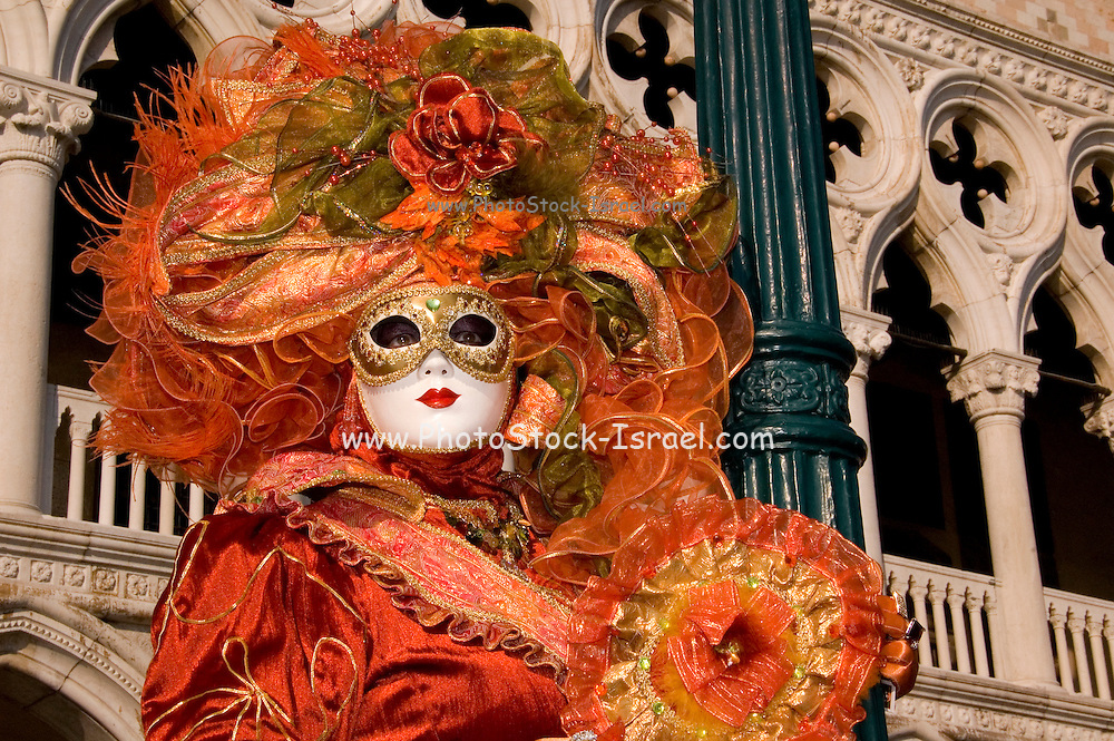Italy, Venice Carnival Mask,