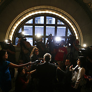 Mayor Richard Daley attends an event at the Chicago Cultural Center.  Photography by Jose More