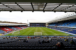 A general view of Ewood Park - Mandatory byline: Matt McNulty/JMP - 21/02/2016 - FOOTBALL - Ewood Park - Blackburn, England - Blackburn Rovers v West Ham United - FA Cup Fifth Round