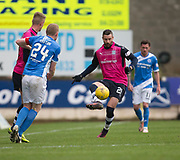 Dundee&rsquo;s Marcus Haber - St Johnstone v Dundee in the Ladbrokes Scottish Premiership at McDiarmid Park, Perth: Picture &copy; David Young<br /> <br />  - &copy; David Young - www.davidyoungphoto.co.uk - email: davidyoungphoto@gmail.com