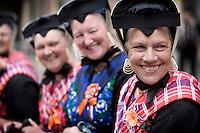 Nederland. Den Haag, 16 september 2008.<br /> Prinsjesdag.<br /> Staphorst op het Binnenhof.<br /> Foto Martijn Beekman<br /> NIET VOOR PUBLIKATIE IN LANDELIJKE DAGBLADEN.