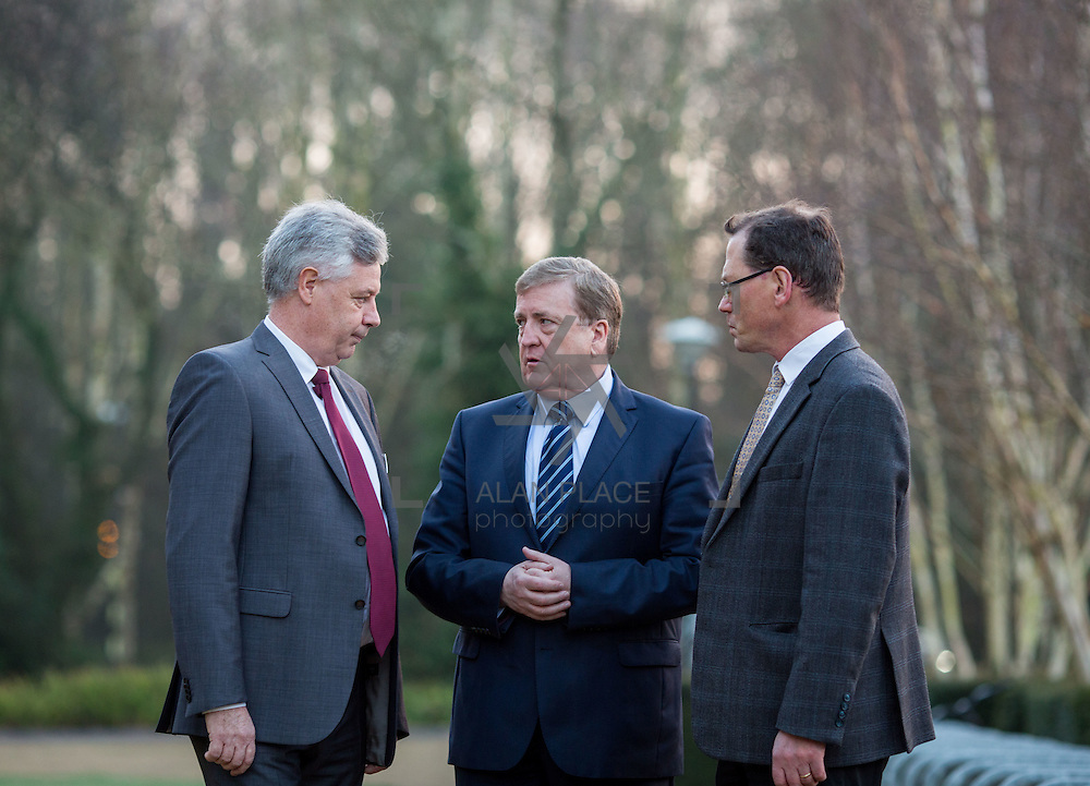 20.01.17<br /> Minister of State for Employment and Small Business, Deputy Pat Breen addressed a seminar for SMEs on The Role of Education in Supporting Small Business at University of Limerick.<br /> <br /> Pictured at the event were, Dr. Phillip O'Regan, Dean of Kemmy Business School, UL, Minister of State for Employment and Small Business, Deputy Pat Breen and Prof. Edmond Magner, Dean of Science and Engineering UL.<br /> <br />  Jointly hosted by the Kemmy Business school and the faculty of Science and Engineering, the event brought together small and medium enterprises along with representative bodies, Local Enterprise Offices, Chambers of Commerce, Irish Small and Medium Enterprises association (ISME), Enterprise Ireland and the IDA. The aim of the event was to stimulate greater collaboration between third level institutes and SMEs in relation to research, education and business advice. To date, University of Limerick and Limerick Institute of Technology have supported a number of start-ups through the Nexus Innovation Centre and LIT&rsquo;s Enterprise Centres while academic staff have provided expert advice to local companies. Picture: Alan Place