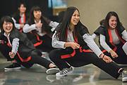 Nursing students from Gonzaga and Japan gather. (GU photo by Gavin Doremus)