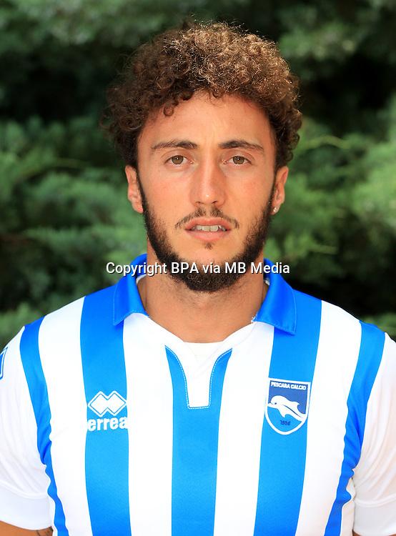 Italian League Serie A -2016-2017 / <br /> ( Delfino Pescara Calcio 1936 ) - <br /> Mirko Pigliacelli