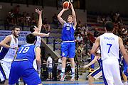 LIGNANO SABBIADORO, 15 LUGLIO 2015<br /> BASKET, EUROPEO MASCHILE UNDER 20<br /> ITALIA-ISRAELE<br /> NELLA FOTO: Gabriele Bennati<br /> FOTO FIBA EUROPE/CASTORIA
