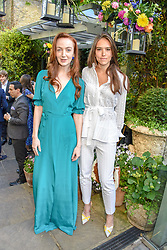 Left to right, Olivia Grant and Natalie Salmon at The Ivy Chelsea Garden Summer Party ,The Ivy Chelsea Garden, King's Road, London, England. 14 May 2019. <br /> <br /> ***For fees please contact us prior to publication***