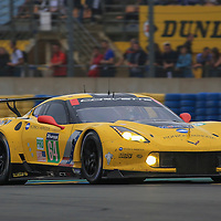 #64, Chevrole Corvette C7.R, ?Corvette Racing-GM, driven by Oliver Gavin, Tommy Milner, Jordan Taylor, 24 Heures Du Mans Test Day, 05/06/2016,