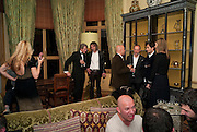 IVOR BRAKA.- Dinner at hosted by Ivor Braka at his home in Chelsea after the opening of Kelley Walker at the Thomas Dane Gallery. London. 13 October 2010. -DO NOT ARCHIVE-© Copyright Photograph by Dafydd Jones. 248 Clapham Rd. London SW9 0PZ. Tel 0207 820 0771. www.dafjones.com.