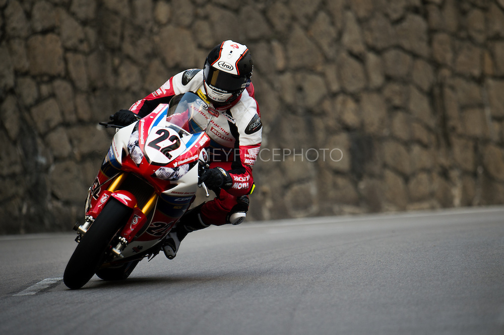 October 16-20, 2016: Macau Grand Prix. 22 Conor CUMMINS, Honda Racing