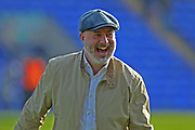 Keith Hill celebrates at the final whistle during the EFL Sky Bet League 1 match between Peterborough United and Rochdale at London Road, Peterborough, England on 14 April 2018. Picture by Daniel Youngs.