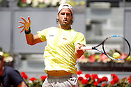 Feliciano Lopez during the Madrid Open at Manzanares Park Tennis Centre, Madrid<br /> Picture by EXPA Pictures/Focus Images Ltd 07814482222<br /> 04/05/2016