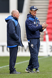 Bristol Rugby Director of Rugby Andy Robinson and New Forwards Coach Mark Bakewell - Mandatory byline: Rogan Thomson/JMP - 06/03/2016 - RUGBY UNION - Ashton Gate Stadium - Bristol, England - Bristol Rugby v Cornish Pirates - Greene King IPA Championship.