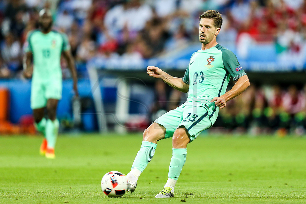 LYON, FRANCE, 07.06.2016 - WALES PORTUGAL Adrien Silva, in a match against Wales, valid for the semi-finals of Euro 2016 at the Grand Stade de Decines-Charpieu near Lyon, France, on Wednesday ( 6).