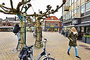 Nederland, Doetinchem, 29-11-2018Krimp en gevolgen ervan voor lokale, plaatselijke economie, binnenstad, leefbaarheid, voorzieningenniveau .Foto: Flip Franssen