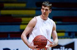 Zoran Dragic at practice of KK Slovan basketball team, on February 3, 2010 in Arena Kodeljevo, Ljubljana, Slovenia.  (Photo by Vid Ponikvar / Sportida)