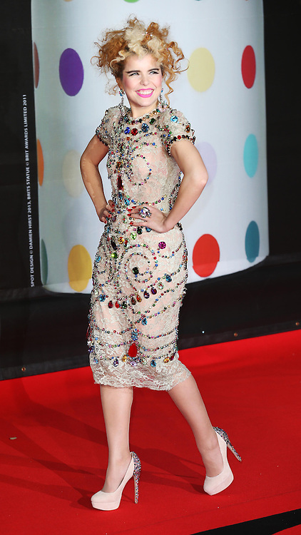 Paloma Faith arriving at the BRIT Awards in London, Wednesday,20th February 2013 Photo by: Stephen Lock / i-Images