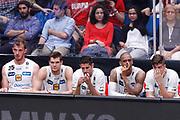 Delusione panchina Trento, EA7 EMPORIO ARMANI OLIMPIA MILANO vs DOLOMITI ENERGIA TRENTINO, gara 1 Finale Play off Lega Basket Serie A 2017/2018, Mediolanum Forum, Assago (MI) 5 giugno 2018 - FOTO: Bertani/Ciamillo