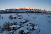 Sunrise in Grand Tetons