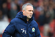 Blackburn Rovers manager Paul Lambert during the Sky Bet Championship match between Bristol City and Blackburn Rovers at Ashton Gate, Bristol, England on 5 December 2015. Photo by Jemma Phillips.
