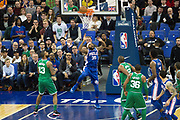 Philadelphia 76ers Trevor Booker (35) during the NBA London Game match between Philadelphia 76ers and Boston Celtics at the O2 Arena, London, United Kingdom on 11 January 2018. Photo by Martin Cole.