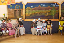 2nd Grade Play in classroom