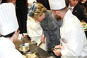 Staatsbezoek aan Nederland van Zijne Majesteit Koning Filip der Belgen vergezeld door Hare Majesteit Koningin <br /> Mathilde aan Nederland.<br /> <br /> State Visit to the Netherlands of His Majesty King of the Belgians Filip accompanied by Her Majesty Queen<br /> Mathilde Netherlands<br /> <br /> op de foto / On the photo: Koningin Mathilde tijdens bezoek aan Sligro Foodgroup Nederland B.V. en de opening inspiratielab ZiN /////  Queen Mathilde during visit to Sligro Foodgroup Netherlands B.V. and the opening inspiratielab ZiN