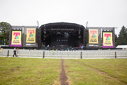Main stage. Friday, 10th July 2015, First day at T in the Park 2015, at its new home at Strathallan Castle.