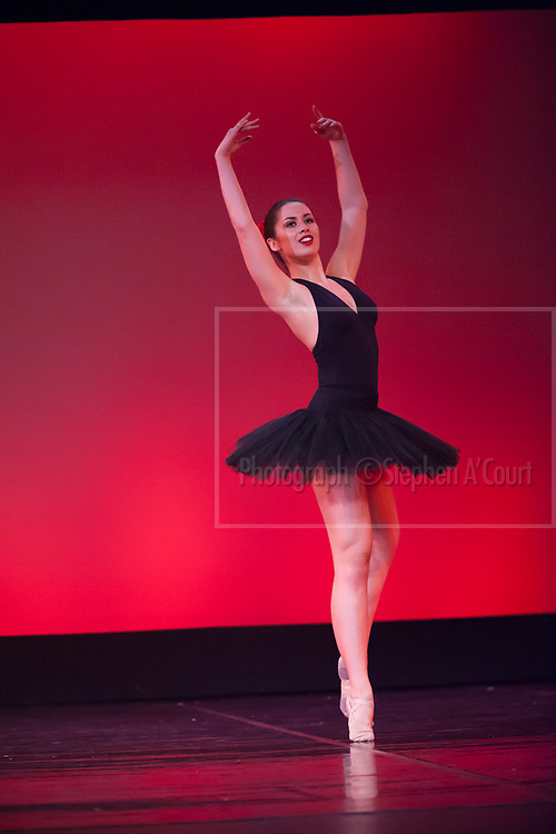 Wellington, NZ. 6.12.2015. Paquita, from the Wellington Dance & Performing Arts Academy end of year stage-show 2015. Senior School Show, Sunday 7.45pm. Photo credit: Stephen A'Court.  COPYRIGHT ©Stephen A'Court