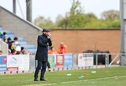 Milton Keynes Dons manager Paul Tisdale watches on - Mandatory by-line: Arron Gent/JMP - 27/04/2019 - FOOTBALL - JobServe Community Stadium - Colchester, England - Colchester United v Milton Keynes Dons - Sky Bet League Two