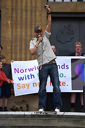 Clive Lewis MP, Labour Norwich South & Shadow Defence Secretary, Norwich Pride 30 July 2016 UK