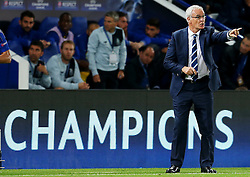 Leicester City manager Claudio Ranieri  - Mandatory by-line: Matt McNulty/JMP - 27/09/2016 - FOOTBALL - King Power Stadium - Leicester, England - Leicester City v FC Porto - UEFA Champions League