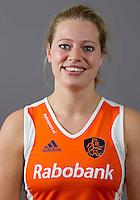 ARNHEM - Keeper FLOORTJE ENGELS. Nederlands hockeyteam dames 2012. FOTO KOEN SUYK/KNHB