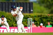 David Lloyd of Glamorgan batting during the Specsavers County Champ Div 2 match between Middlesex County Cricket Club and Glamorgan County Cricket Club at Radlett Cricket Ground, Radlett, Herfordshire,United Kingdom on 17 June 2019.