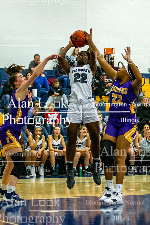 23 November 2019:  Girls Intercity tournament - Normal West Wildcats v Bloomington Raiders at Central Catholic in Bloomington IK