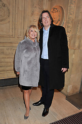 ELAINE PAIGE and JUSTIN MALLINSON at Cirque du Soleil's VIP night of Kooza held at the Royal Albert Hall, London on 8th January 2013.