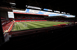 General view of the ground ahead of the pre-season friendly match at the City Ground, Nottingham