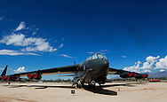 The Boeing B 52 Bomber at the Pima Air and Space Museum in Tuscon, Arizona.<br /> <br /> Photo by Dennis Brack