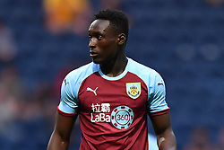 """Burnley's Dan Agyei during a pre season friendly match at Deepdale, Preston. PRESS ASSOCIATION Photo. Picture date: Monday July 23, 2018. Photo credit should read: Antony Devlin/PA Wire. EDITORIAL USE ONLY No use with unauthorised audio, video, data, fixture lists, club/league logos or """"live"""" services. Online in-match use limited to 75 images, no video emulation. No use in betting, games or single club/league/player publications."""