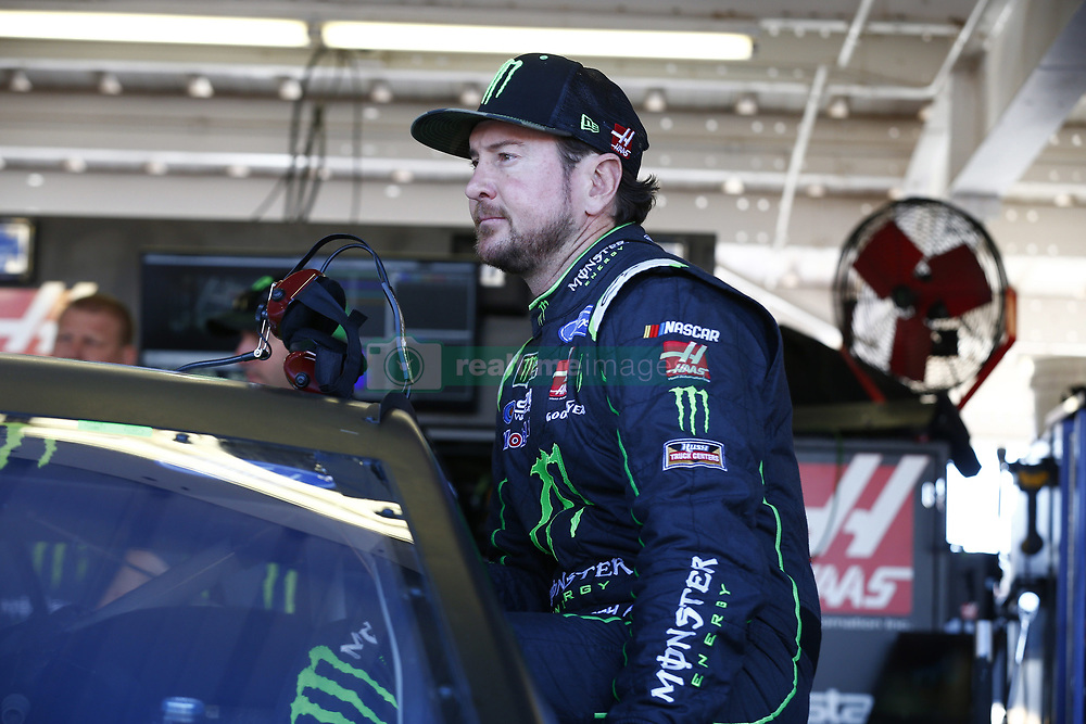 November 11, 2017 - Avondale, Arizona, United States of America - November 11, 2017 - Avondale, Arizona, USA: Kurt Busch (41) hangs out in the garage during practice for the Can-Am 500(k) at Phoenix Raceway in Avondale, Arizona. (Credit Image: © Justin R. Noe Asp Inc/ASP via ZUMA Wire)